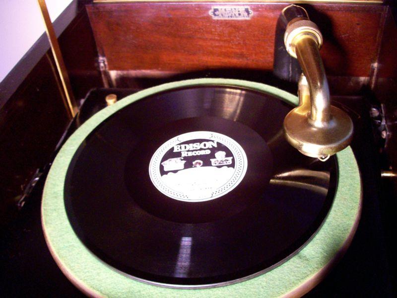 Craigslist Vancouver Bc >> 1919 Edison H-19 Hepplewhite Phonograph w. Victor Adapter