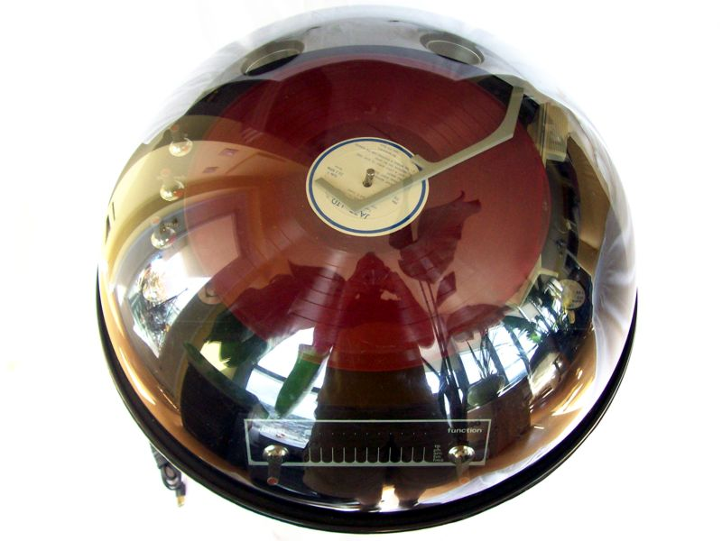 1970 Electrohome Space Age Bubble Stereo In Chrome