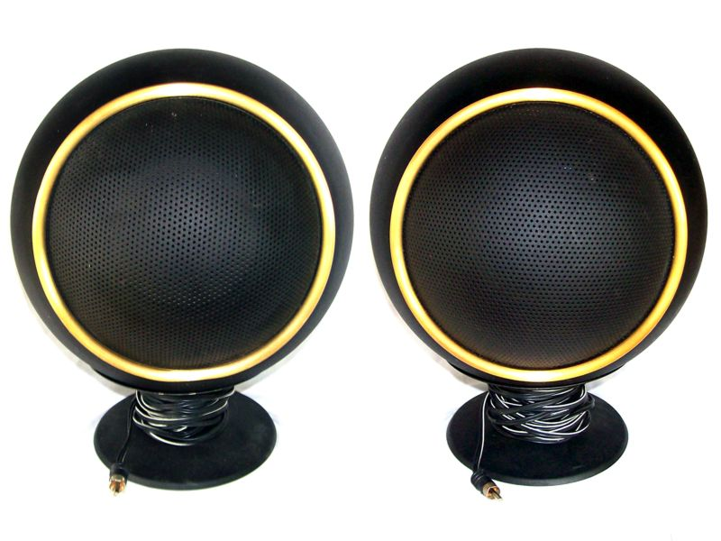 1971 Electrohome Space Age Bubble Stereo In Gold